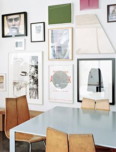 Gallery wall from Domaine Home
