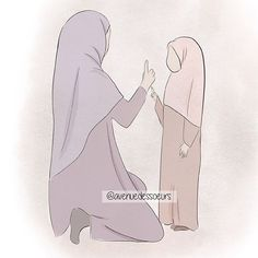 15 Invocations to perfect your prayer print memo Avenue des Soeurs Coran Quotes, Mother And Daughter Drawing, Drawing Themes, Hijab Drawing, Cute Muslim Couples, Islamic Cartoon, Anime Muslim, Hijab Cartoon, Muslim Family