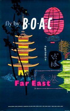 1954 BOAC - fly by B.O.A.C. Far East