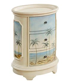 Another great find on #zulily! Tropical Chairside Chest #zulilyfinds