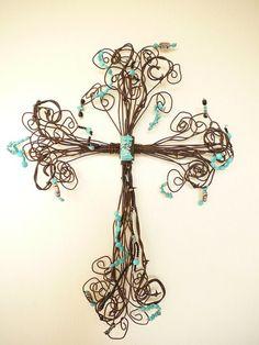 A Beautiful Cross from Crosses Cross Texas.... Love it