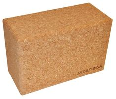 Jade Cork Yoga Blocks are made with cork harvested sustainably in Portugal from the bark of native cork trees, a rapidly renewable resource. Yoga Moves, Yoga Exercises, Jade Yoga, Cork Tree, Yoga Props, Prop Making, Jade Plants, Advanced Yoga, Yoga Block