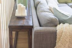 $30 DIY Sofa/Console Table Tutorial