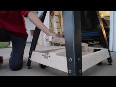 Guitar Shop Innovations - Mobile Bandsaw Base - YouTube