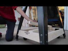 Guitar Shop Innovations - Mobile Bandsaw Base - YouTube
