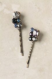 Bobby pins from Anthropologie.