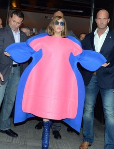 Lady Gaga in Comme des Garcons