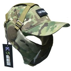 NO B Tactical Foldable Mesh Mask with Ear Protection for Airsoft Paintball with Adjustable Baseball Cap Multicam Hypebeast Sneakers, Hypebeast Outfit, Hypebeast Room, Airsoft, Tactical Clothing, Tactical Gear, Live Action, Hot Men, Shoes Wallpaper
