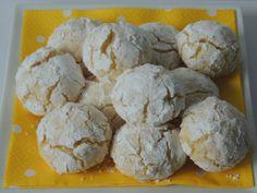 Citrónovo-kokosové crinkles