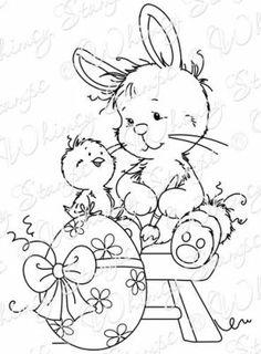 Karten-Kunst - Stempel- und Scrapbook-Shop - Wee Stamps - Easter Bunny