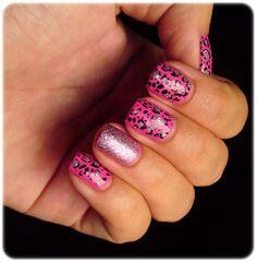 Ivana Thinks Pink: Pink Glittery Leopard Print