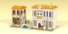 LEGO Ideas Venetian Houses Arriva a 10.000 Sostenitori | GiocoVisione