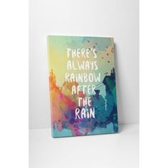 There's always rainbow Rainbow After The Rain, Latex, Posters, Diy Crafts, Books, Art, Ink, Art Background, Libros