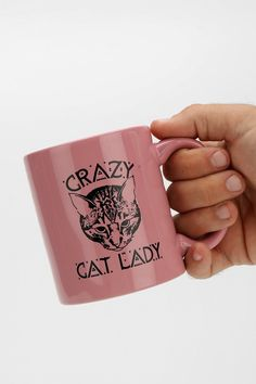 Crazy Cat Lady Mug - Urban Outfitters