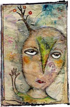 lynne hoppe: muslin journal pages