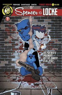 Spencer & Locke #1: The Best of Both Worlds  Peanut butter and chocolate. Chips and salsa. Rum and Coke. Some things are just meant to go together.  But how about Calvin & Hobbes combined with Sin City?  Thats the premise of Spencer & Locke a new limited four-book series from Action Lab  Danger Zone. At first the idea sounds silly maybe even offensive. Calvin is a beloved comic strip featuring a boy and his stuffed tiger that gently taught life lessons. Sin City was a gritty crime drama…