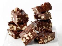 Get Microwave Fudge Recipe from Food Network