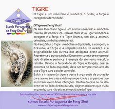 Escola Portuguesa de Feng Shui: O TIGRE