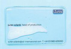 Best Business Card Ever by Durex