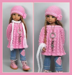 OOAK Back to School Pink Outfit from maggie_kate_create ends 8/23/14. SOLD for $100.00
