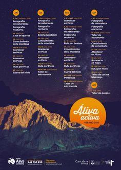 Calendario Aliva Activa 2016 - CANTUR – Sociedad Regional Cántabra de Promoción Turística - Cantabria