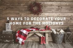 This time of year not only brings the long-awaited Christmas spirit, but also the hustle and bustle of the holidays. Not to fear, however! Here are some creative ways to officially set up Christmas in your home without the hassle!  #christmadecorating #holidayhomedecor #christmasdecorations