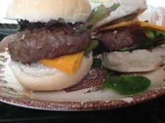 Balsamic Galzed Beef Burgers by @Stephanie Mamo