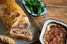This impressive dish is perfect for an ambitious team of cooking kids. Find this and many more recipes for all the family at Tesco Real Food today! Pork Wellington, Pork Recipes, Vegetarian Recipes, Drink Recipes, Tacos, Pork Ham, Pork Sausages, Pork Fillet, Great British Chefs
