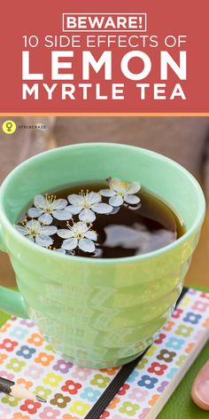 Did you know that a cup of lemon myrtle tea does more than just rejuvenate your senses?
