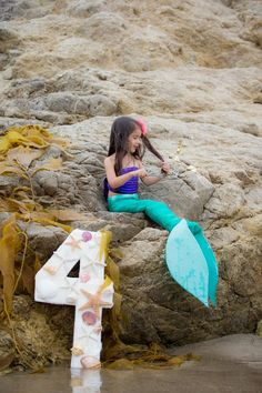 The Little Mermaid Inspired Birthday Photoshoot!