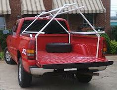 PVC Truck Tent... would be easy enough to put together.