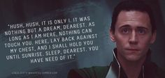 Loki's Dirty Whispers - This one is just romantic ^^