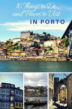 16-Things to Do and Visit in Porto. Click on the image to see the blog post.  #porto #visitporto #portugal
