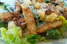 klassieke caesar salad recept