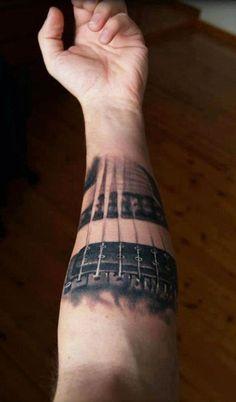 Tattoo Artist - Bojan Tattoocream Curcic - music tattoo