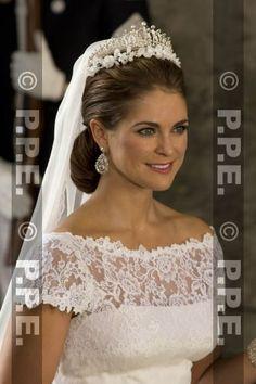 MARIAGE PRINCIER MADELEINE DE SUEDE - 8 JUIN 2013 -