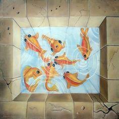 Le bassin aux poissons 1