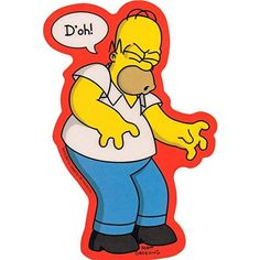 STICKER - The Simpsons Homer Doh Decal SB13 http://order.sale/FRSf (via Amazon)
