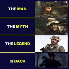 Capt price is back. T Games, Free Games, Call Of Duty World, Modern Warfare, Business Travel, The Man, Daddy, Funny, Instagram Posts