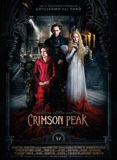 Crimson Peak est un film de Guillermo del Toro avec Mia Wasikowska , Tom Hiddleston. Synopsis : Au début du siècle dernier, Edith Cushing, une jeune romancière en herbe, vit avec son père Carter Cushing à Buffalo, dans l'État de New York. La jeun
