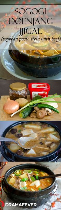 Learn how to make delicious soybean paste stew with beef with Holly from Beyond Kimchee