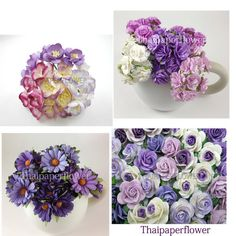 Hey, I found this really awesome Etsy listing at http://www.etsy.com/listing/151845256/100-purple-mixed-carnation-roses-daisy