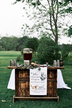 East Coast summer foodie wedding