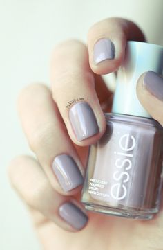 essie miss fancy pants- I want this purple grey for my bedroom walls