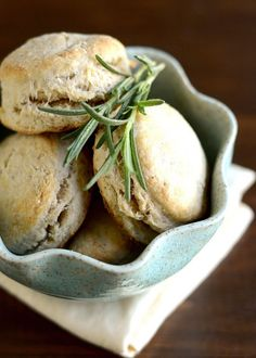 Rosemary & Olive Oil Biscuits!