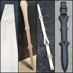 Lady Sif Sword Build progression by coregeek Click thru for full build in progress photos from pattern making to final primer.