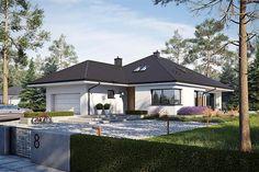 Model House Plan, House Plans, One Storey House, Bungalow House Design, Home Fashion, Farmhouse Design, Home Look, Building A House, Gazebo
