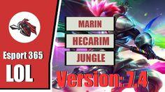 Afreeca Freecs MaRin SoloQ Playing Hecarim Jungle In Challenger Korea [3...