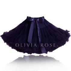 Black Pettiskirt by OLIVIA ROSE ™