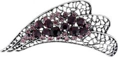Purple Nephrite Abstract Leaf Brooch – The Fashion Jewelry Source